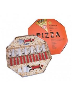 Kit para Pizza Vermelho Tramontina 25099/722